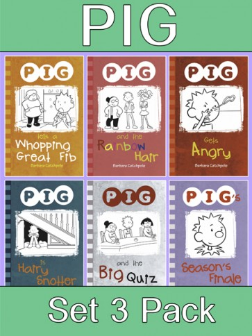 PIG Reading Books Set 3