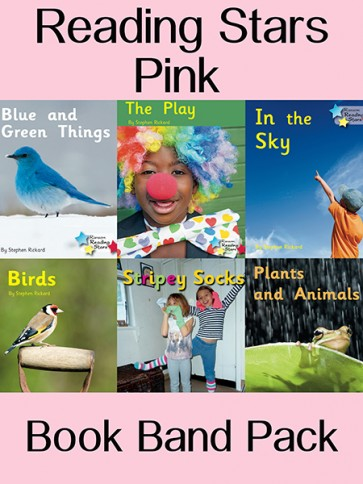 Reading Stars Pink Book Band Pack