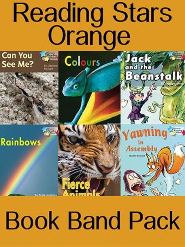 Reading Stars Orange Book Band Pack