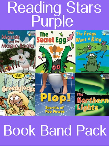 Reading Stars Purple Book Band Pack