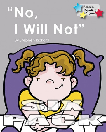 No, I Will Not
