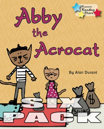 Abby the Acrocat (6 Pack)