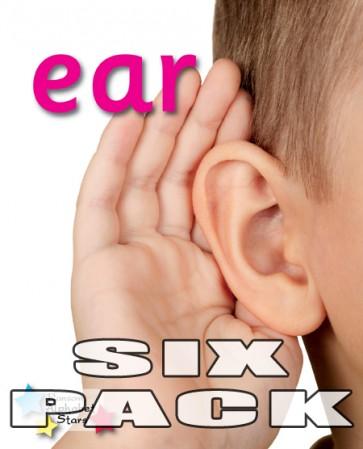 Alpha Stars ear (6 pack))