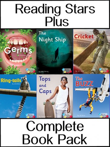 Reading Stars Plus Complete Book Pack