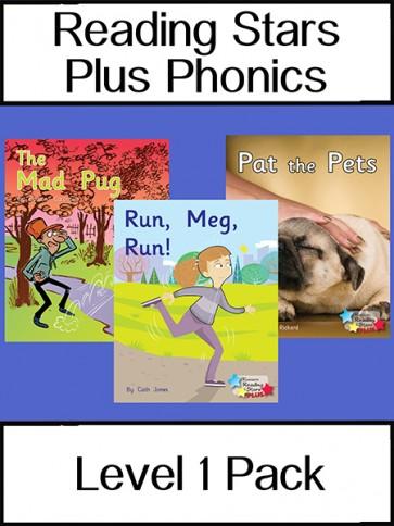 Reading Stars Plus Phonics 1 Pack