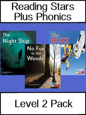 Reading Stars Plus Phonics 2 Pack