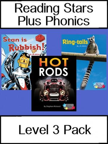 Reading Stars Plus Phonics 3 Pack