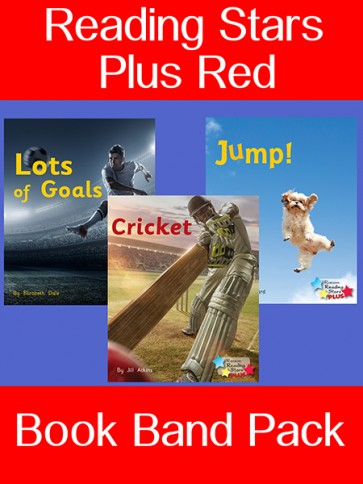 Reading Stars Plus Red Book Band Pack
