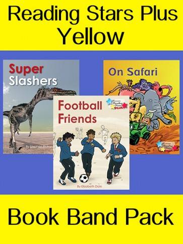Reading Stars Plus Yellow Book Band Pack