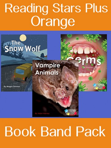 Reading Stars Plus Orange Book Band Pack