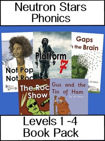 Neutron Stars Phonics Levels 1 - 4 Book Pack