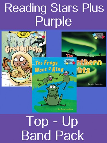 Reading Stars Plus Purple Top-Up Band Pack