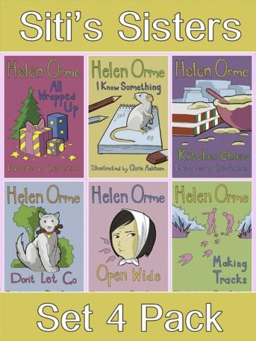 Siti's Sisters Reading Books Set 4