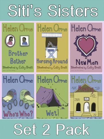 Siti's Sisters Reading Books Set 2