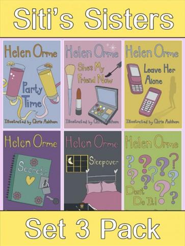 Siti's Sisters Reading Books Set 3