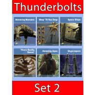Thunderbolts Reading Books Set 2