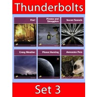 Thunderbolts Reading Books Set 3