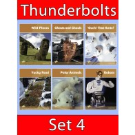Thunderbolts Reading Books Set 4