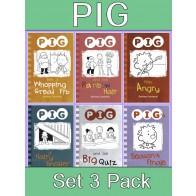 PIG Reading Books Set 3