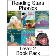 Reading Stars Phonics Level 2 Book Pack