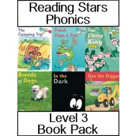 Reading Stars Phonics Level 3 Book Pack