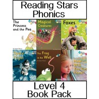 Reading Stars Phonics Level 4 Book Pack