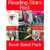 Reading Stars Red Book Band Pack