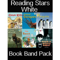 Reading Stars White Book Band Pack