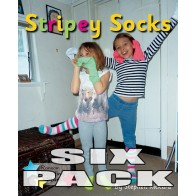 Stripey Socks (6 Pack)