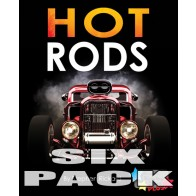 Hot Rods  (6 pack)