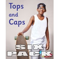 Tops and Caps (6 pack)