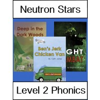 Neutron Stars Level 2 Phonics Pack