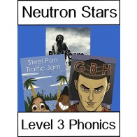 Neutron Stars Level 3 Phonics Pack