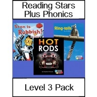Reading Stars Plus Phonics 3 Pack