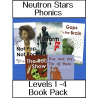 Neutron Stars Phonics Levels 1 - 4 Book Pack