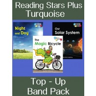 Reading Stars Plus Turquoise Top-Up Band Pack