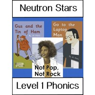 Neutron Stars Phonics Level 1 Pack