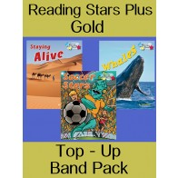 Reading Stars Plus Gold Top-Up Band Pack