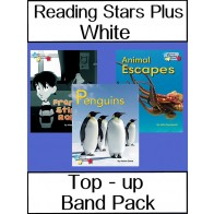 Reading Stars Plus White Top-Up Band Pack