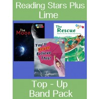 Reading Stars Top-up Pack Lime Band