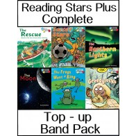 Reading Stars Plus CompleteTop-Up Band Pack