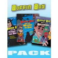 Boffin Boy Reading Books Set 2