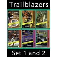 Trailblazers Reading Books Set 1 and 2