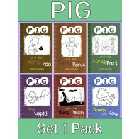 PIG Reading Books Set 1