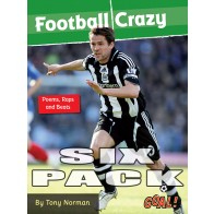 Football Crazy; Poems, Raps & Beats 6 pack