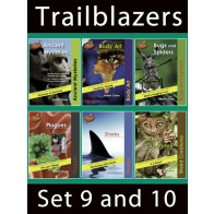 Trailblazers Reading Books Set 9 and 10