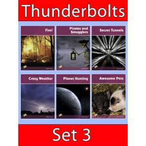 Thunderbolts Reading Books Set 3
