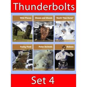 Thunderbolts Reading Books Set 4