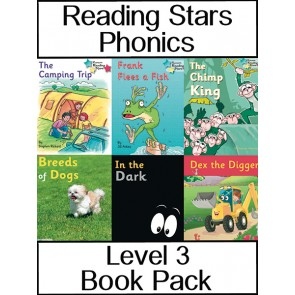 Reading Stars Phonics Level 3 Book Pack