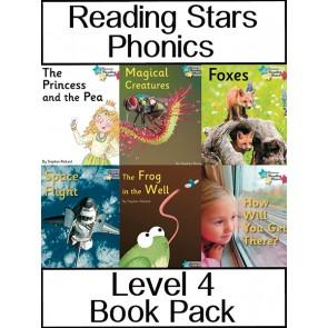 Reading Stars Phonics Level 4 Book Pack
